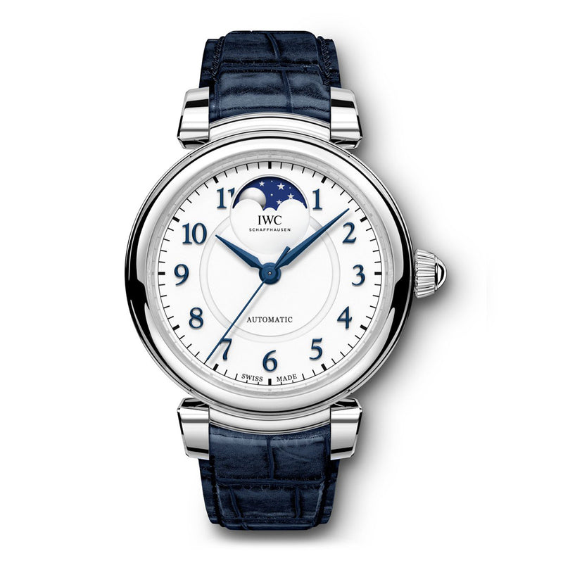 Da Vinci Moon Phase 36 Steel IW459306