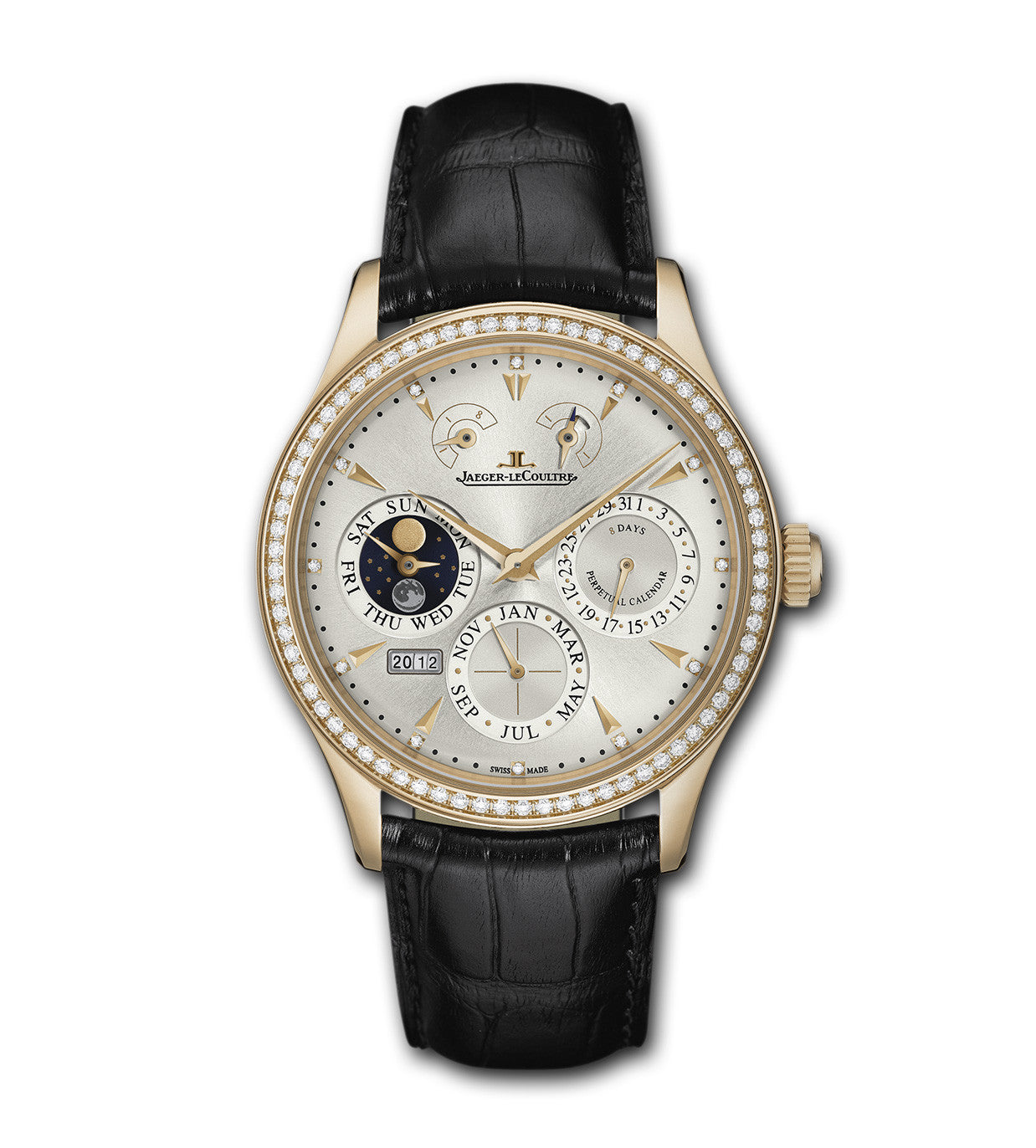 Jaeger-LeCoultre Master Eight Days Perpetual 40 1612403