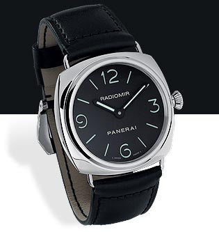 Panerai Radiomir 45mm Steel Watch PAM00210