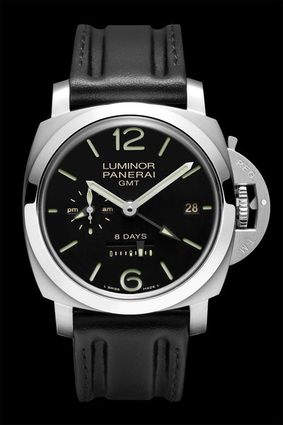 Panerai Luminor 1950 8 Days GMT 44mm Steel PAM00233