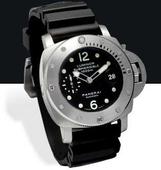 Panerai Luminor 1950 Submersible 1000M 44mm Steel Watch PAM00243