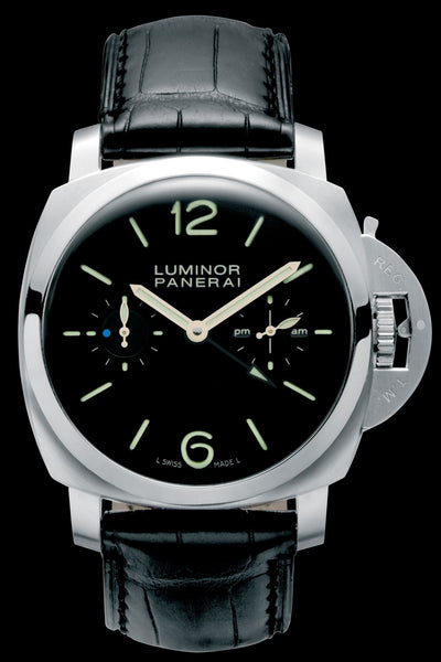 Panerai Luminor 1950 Tourbillon GMT 47mm Steel Watch PAM00276