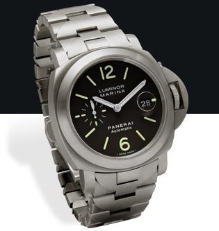 Panerai Luminor Marina Automatic 44mm Titanium Watch PAM00279