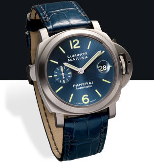 Panerai Luminor Marina Automatic 40mm Titanium Watch PAM00282