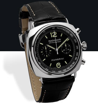 Panerai Radiomir Chronograph 45mm Steel Watch PAM00288