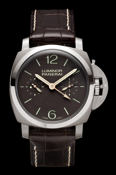 Panerai Luminor 1950 Tourbillon GMT 47mm Titanium Watch PAM00306