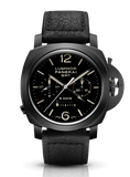 Panerai Luminor 1950 Chrono Monopulsante 8 Days GMT 44mm Ceramic PAM00317