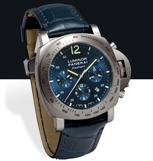 Panerai Luminor Chrono Daylight 44mm Titanium Watch PAM00326