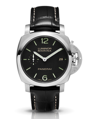 Certified Preowned Panerai Luminor Marina 1950 3 Days Acciaio PAM00392