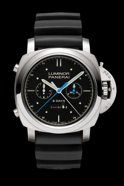 Panerai Luminor 1950 Rattrapante 8 Days Titanio - 47mm PAM00427