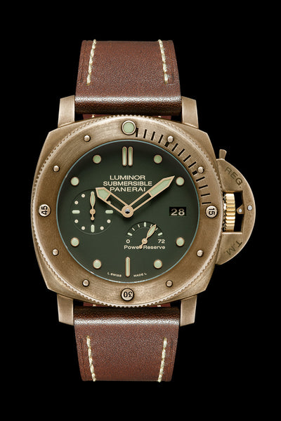 Panerai Luminor Submersible 1950 3 Days Power Reserve Automatic Bronzo - 47mm PAM00507