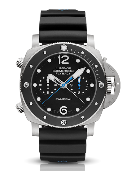 Panerai Luminor Submersible 1950 Chrono Flyback Titanio PAM00615 SIHH 2015