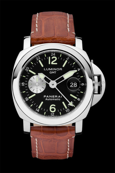 Panerai Luminor GMT 44mm Steel Watch PAM00088