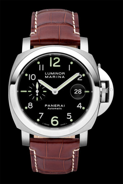 Panerai Luminor Marina Automatic 44mm Steel Watch PAM00164