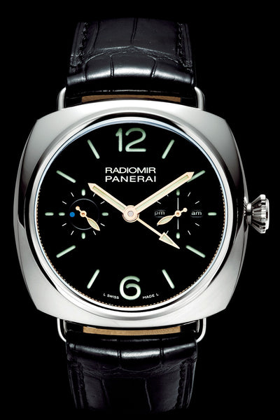 Panerai Radiomir Tourbillon GMT 48mm Platinum Watch PAM00316