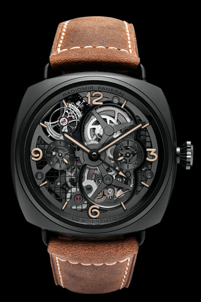 Special Edition 2010 Lo Scienziato Radiomir Tourbillon GMT Ceramica 48mm