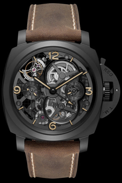 Panerai Luminor 1950 Lo Scienziato Tourbillon GMT Ceramica - 48mm PAM00528