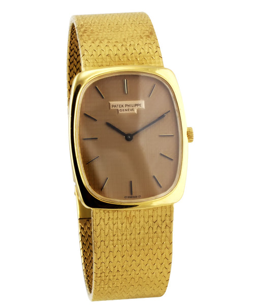 Certified Preowned Patek Philippe 18k 1970's Extra Flat