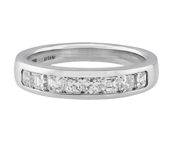 Ritani Royal White Gold Diamond Ring