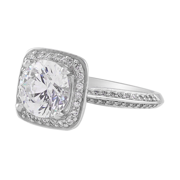 Master Work Micro Pave Set Diamond Setting, Ritani