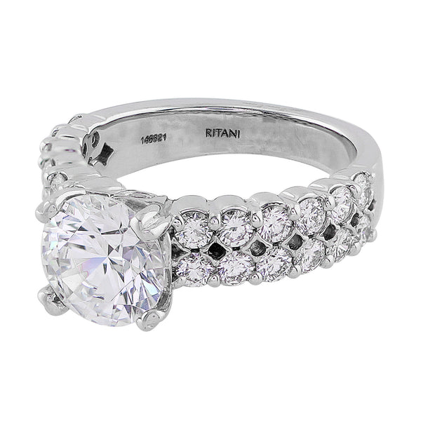 Diamond Double Row Setting, Ritani