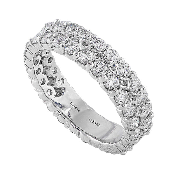 Diamond Eternity Prong Set Ring, Ritani
