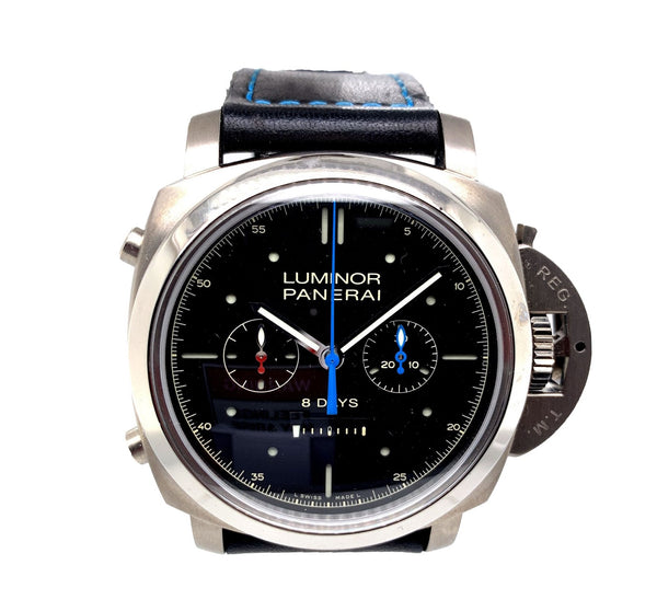 Panerai Luminor 1950 Rattrapante 8 Days Titano PAM530 - Certified Pre-Owned