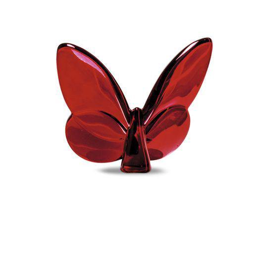 Red Mirror Lucky Butterfly