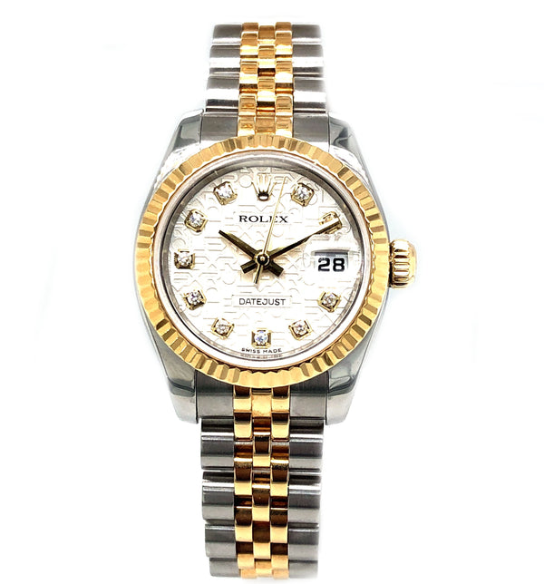 Rolex Oyster Perpetual Datejust 26mm 18K Yellow Gold 179173 - Pre-Owned