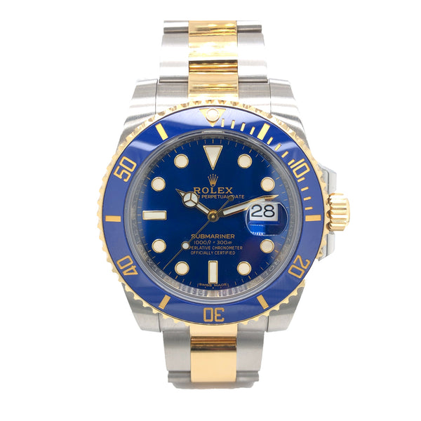 Rolex Ceramic Submariner Date 40MM 116613LB - Pre-Owned