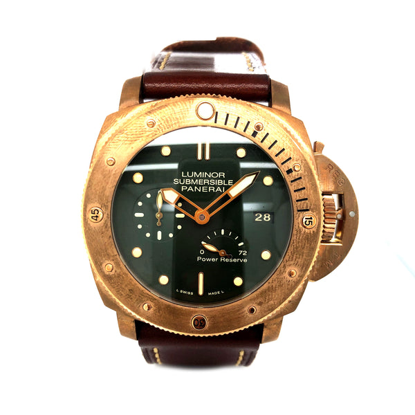"Panerai Luminor Submersible ""Bronzo"" PAM00507 - Certified Pre-Owned"