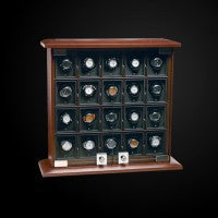 Watch Winder Twenty Module Unit Briarwood