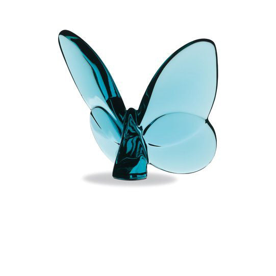 Turquoise Blue Lucky Butterfly