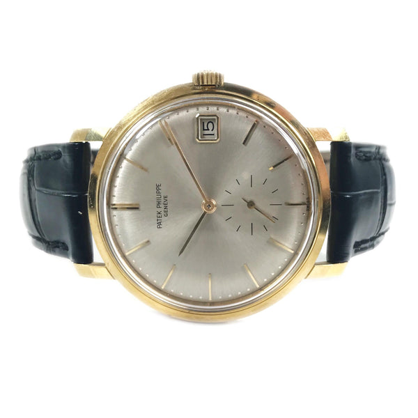 Patek Philippe Calatrava Vintage Yellow Gold Circa 1963 3445 - Certified Pre-Owned