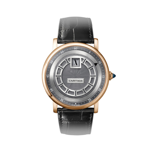 Rotonde de Cartier Jumping Hours watch W1553751