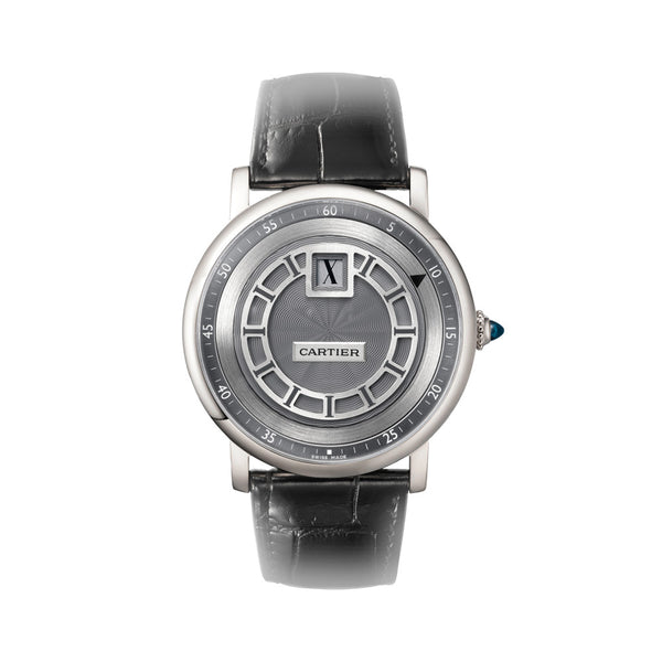 Rotonde de Cartier jumping hours watch W1553851