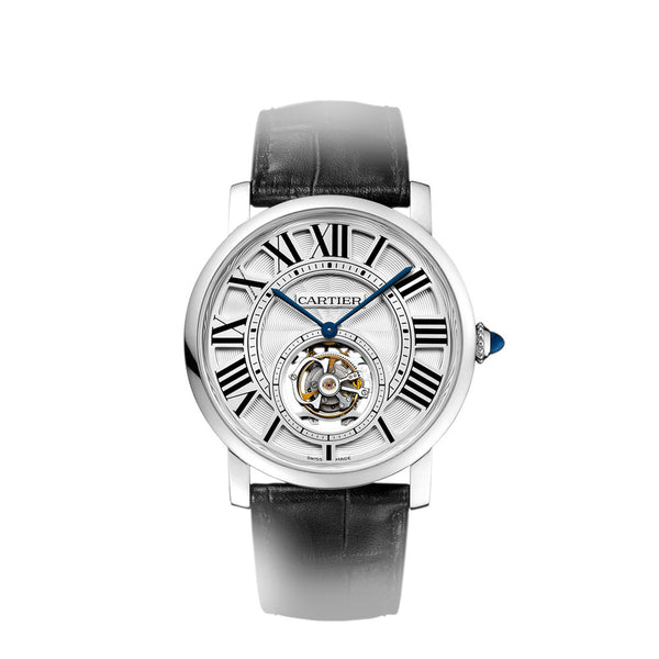 Rotonde de Cartier flying tourbillon watch W1556216