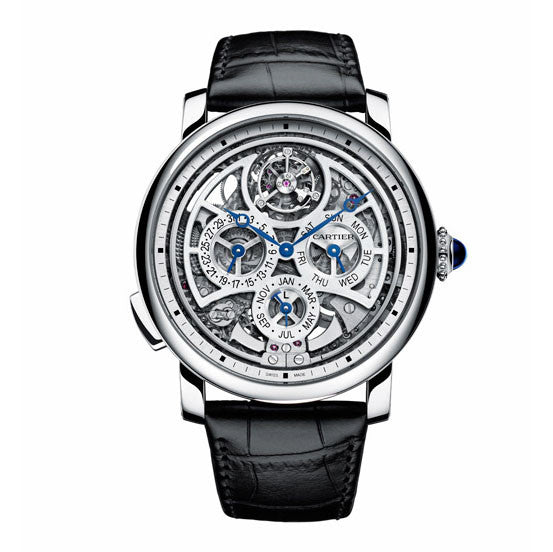 Rotonde de Cartier Grande Complication Skeleton Watch W1556251 SIHH 2015