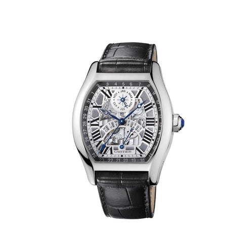 Cartier Tortue perpetual calendar watch W1580048