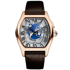 Cartier Tortue Time Zones, Extra-Large Watch W1580049