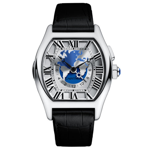 Cartier Tortue Time Zones, Extra-Large Watch W1580050