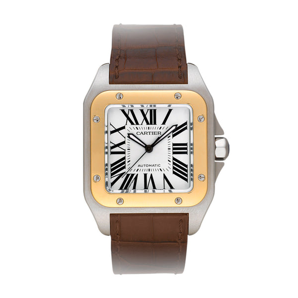 Cartier Santos 100 watch, large model W20072X7