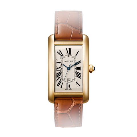 Cartier Tank Américaine watch, large model W2603156