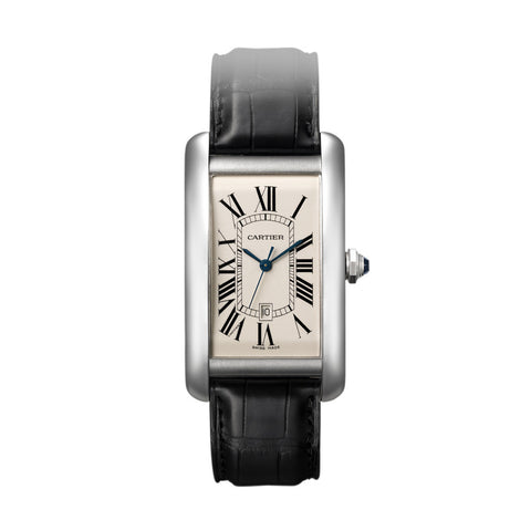 Cartier Tank Américaine watch, large model W2603256