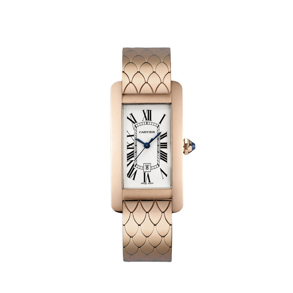 Cartier Tank Américaine watch, medium model W2620032