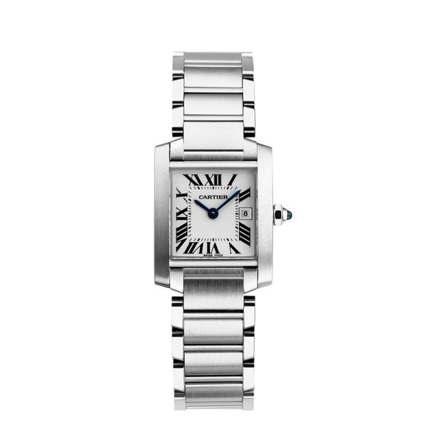 Cartier Tank Française Watch, Medium Model W51011Q3