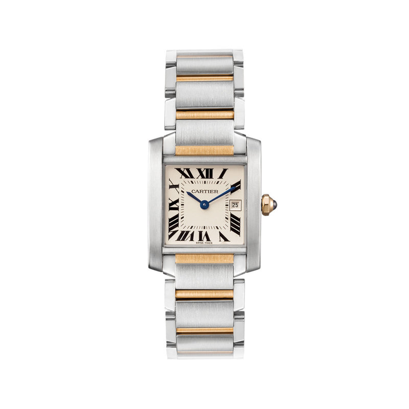 Cartier Tank Française Watch, Medium Model W51012Q4