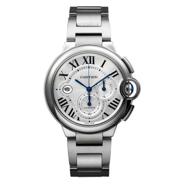 Ballon Bleu de Cartier chronograph watch, extra-large model W6920002