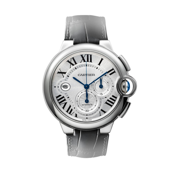 Ballon Bleu de Cartier chronograph watch, extra-large model W6920003