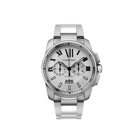Calibre de Cartier Chronograph watch W7100045